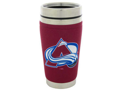 Colorado Avalanche 16oz Stainless Steel Travel Tumbler