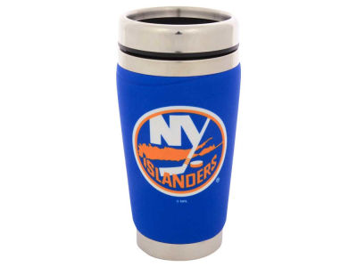 New York Islanders 16oz Stainless Steel Travel Tumbler