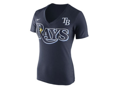 Tampa Bay Rays Nike MLB Women's V Fan T-Shirt