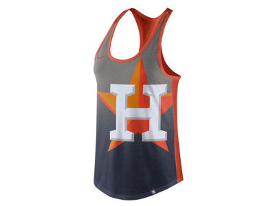 Houston Astros Nike MLB Women's Triblend Fade Tank