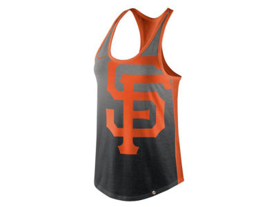 San Francisco Giants Nike MLB Women's Triblend Fade Tank