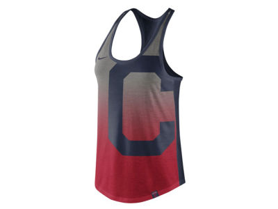 Cleveland Indians Nike MLB Women's Triblend Fade Tank