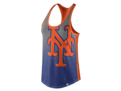 New York Mets Nike MLB Women's Triblend Fade Tank
