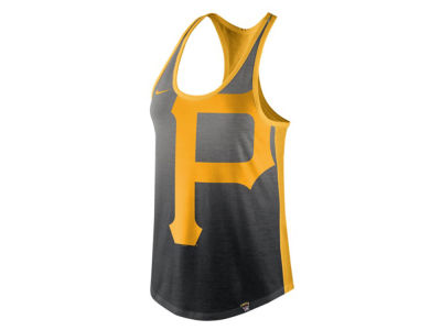 Pittsburgh Pirates Nike MLB Women's Triblend Fade Tank