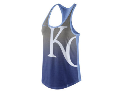 Kansas City Royals Nike MLB Women's Triblend Fade Tank