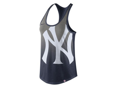New York Yankees Nike MLB Women's Triblend Fade Tank