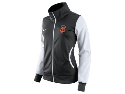 San Francisco Giants Nike MLB Women's Full Zip Track Jacket