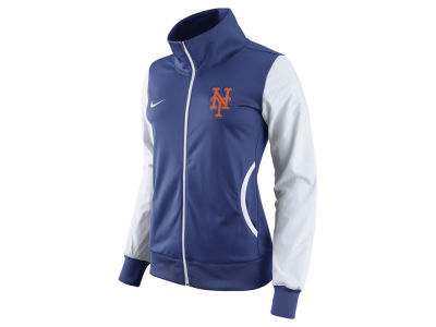 New York Mets Nike MLB Women's Full Zip Track Jacket