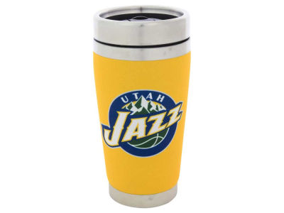 Utah Jazz 16oz Stainless Steel Travel Tumbler