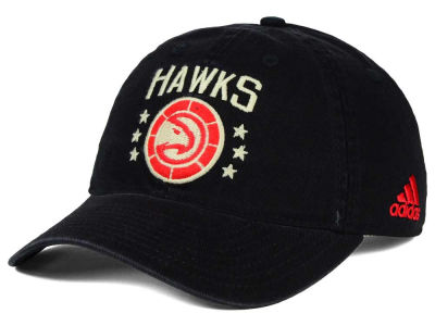 Atlanta Hawks adidas NBA Chain Star Adjustable Cap
