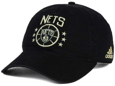 Brooklyn Nets adidas NBA Chain Star Adjustable Cap