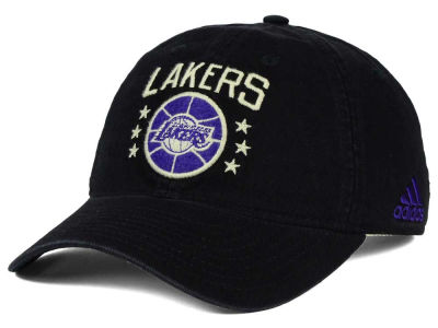 Los Angeles Lakers adidas NBA Chain Star Adjustable Cap