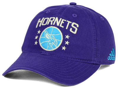 Charlotte Hornets adidas NBA Chain Star Adjustable Cap