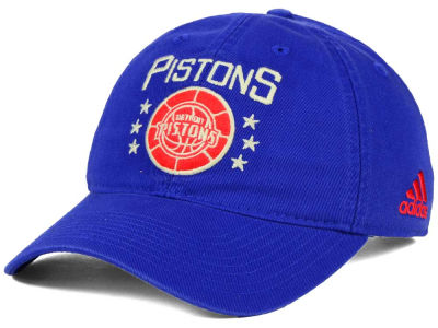 Detroit Pistons adidas NBA Chain Star Adjustable Cap