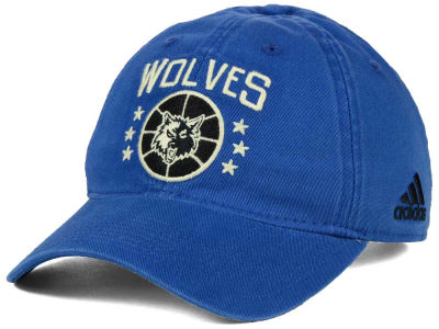 Minnesota Timberwolves adidas NBA Chain Star Adjustable Cap