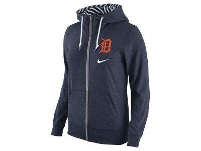 Detroit Tigers Nike MLB Women's Gym Vintage Full Zip Hoodie