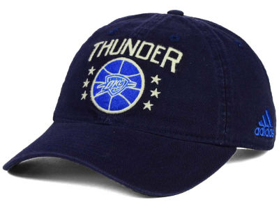 Oklahoma City Thunder adidas NBA Chain Star Adjustable Cap