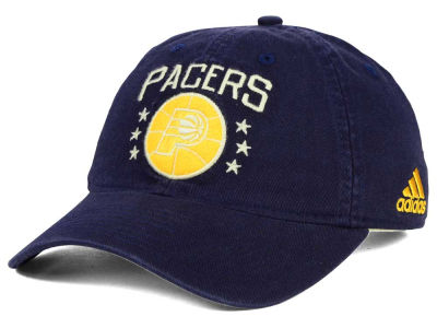 Indiana Pacers adidas NBA Chain Star Adjustable Cap