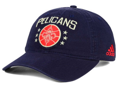 New Orleans Pelicans adidas NBA Chain Star Adjustable Cap