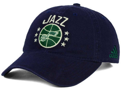 Utah Jazz adidas NBA Chain Star Adjustable Cap