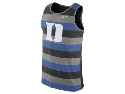 Duke Blue Devils Nike NCAA Men's Stadium Team First Striped Tank
