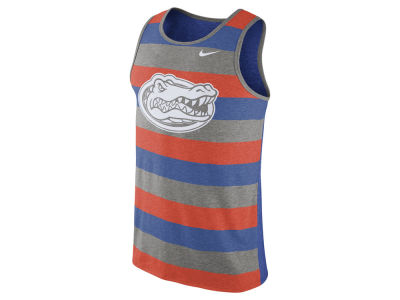 Florida Gators Nike NCAA Men's Stadium Team First Striped Tank