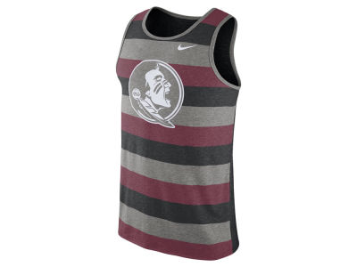 Florida State Seminoles Nike NCAA Men's Stadium Team First Striped Tank
