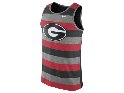 Georgia Bulldogs Nike NCAA Men's Stadium Team First Striped Tank