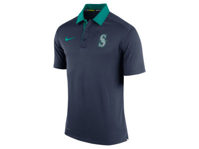 Seattle Mariners Nike MLB Men's AC Dri-Fit Elite Polo