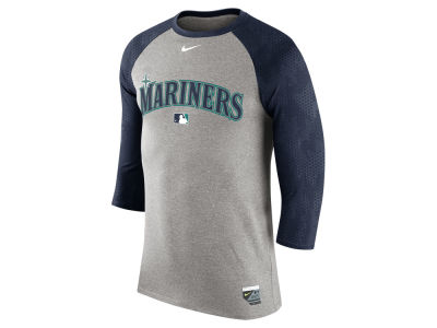 Seattle Mariners Nike MLB Men's AC Legend Raglan 1.6 T-Shirt