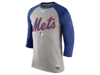 New York Mets Nike MLB Men's AC Legend Raglan 1.6 T-Shirt