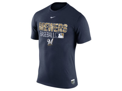 Milwaukee Brewers Nike MLB Men's Legend Team Issue T-Shirt