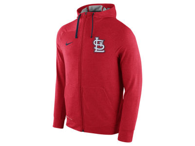 St. Louis Cardinals Nike MLB Men's Dri-Fit Touch Full Zip Hoodie