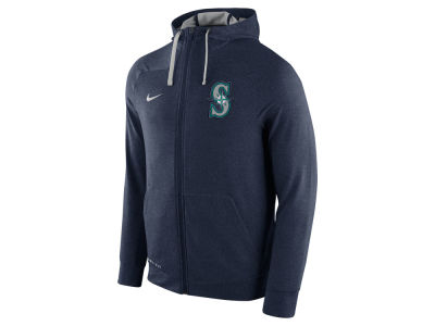 Seattle Mariners Nike MLB Men's Dri-Fit Touch Full Zip Hoodie