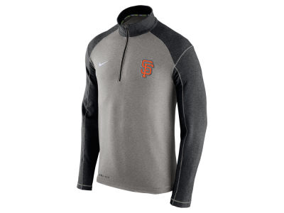 San Francisco Giants Nike MLB Men's Dri-Fit Touch Half Zip Pullover