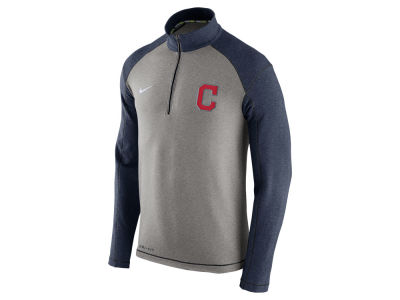 Cleveland Indians Nike MLB Men's Dri-Fit Touch Half Zip Pullover