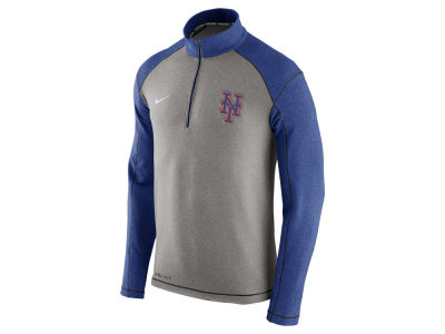 New York Mets Nike MLB Men's Dri-Fit Touch Half Zip Pullover