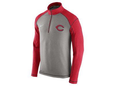 Cincinnati Reds Nike MLB Men's Dri-Fit Touch Half Zip Pullover