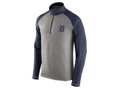 Detroit Tigers Nike MLB Men's Dri-Fit Touch Half Zip Pullover