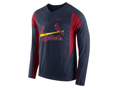 St. Louis Cardinals Nike MLB Men's Long Sleeve Windshirt