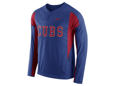 Chicago Cubs Nike MLB Men's Long Sleeve Windshirt
