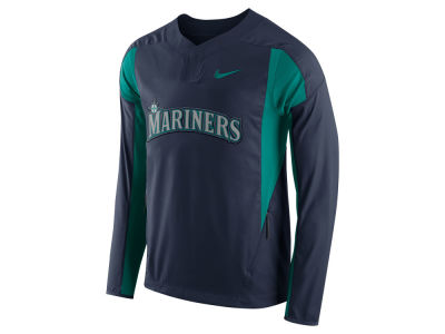 Seattle Mariners Nike MLB Men's Long Sleeve Windshirt