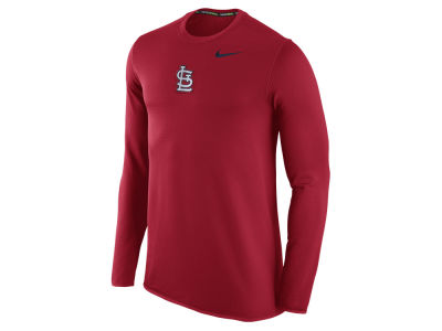 St. Louis Cardinals Nike MLB Men's Waffle Long Sleeve Shirt