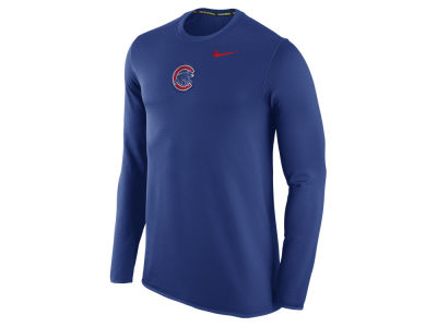 Chicago Cubs Nike MLB Men's Waffle Long Sleeve Shirt