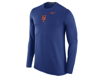 New York Mets Nike MLB Men's Waffle Long Sleeve Shirt