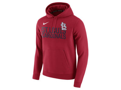 St. Louis Cardinals Nike MLB Men's Pullover Fleece Hoodie