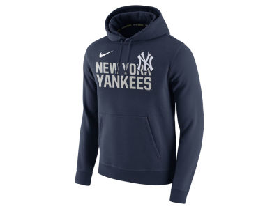 New York Yankees Nike MLB Men's Pullover Fleece Hoodie