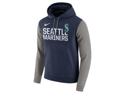 Seattle Mariners Nike MLB Men's Pullover Fleece Hoodie