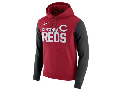 Cincinnati Reds Nike MLB Men's Pullover Fleece Hoodie