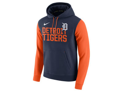 Detroit Tigers Nike MLB Men's Pullover Fleece Hoodie